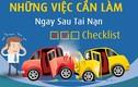 Khi xảy ra tai nạn giao thông bạn phải làm gì?
