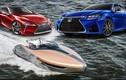 """Lexus tiếp tục """"khoe hàng"""" siêu du thuyền Sport Yacht"""