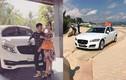 Minh Nhựa tặng vợ xe sang Jaguar XF tiền tỷ