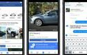 Mua xe ôtô trên Facebook sẽ thay thế website?
