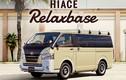 """Minivan """"sang chảnh"""" Toyota Hiace Relaxbase giá từ 675 triệu"""