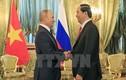Ảnh: Chủ tịch nước Trần Đại Quang hội đàm với Tổng thống Nga Putin