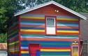 Tròn mắt những ngôi nhà màu sắc kỳ lạ nhất thế giới
