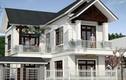 10 mẫu nhà 2 tầng mái kép đầy phong cách