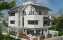 10 thiết kế biệt thự có cổng nhà mái thái đẹp mắt