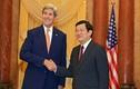 """Ông John Kerry: """"Quân đội Mỹ sẽ ngăn cản quân sự hóa biển Đông"""""""