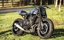 """""""Soi"""" môtô hoài cổ Yamaha XSR700 độ scrambler cày đất"""