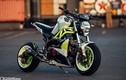 """Cận cảnh Ducati Monster """"nhái"""" độ phong cách drag bike"""