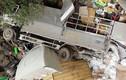 Cận cảnh hiện trường 2 xe tải đâm nhau ở Lai Châu