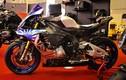"""Siêu môtô Yamaha R1M độ """"full đồ hiệu"""" tại Việt Nam"""