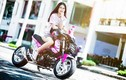 Nữ biker Việt cực cool bên Honda MSX125 hàng khủng