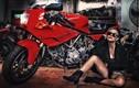 """""""Nữ quái"""" Việt siêu ngầu bên môtô Ducati Supersport 900"""
