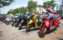 Hàng trăm xe Honda SH phơi nắng 40 độ C tại Hà Nội