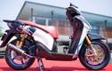 """Honda SH độ khủng ở Sài Gòn """"khoe hàng"""" tại Hà Nội"""