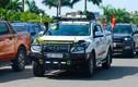 Hơn 100 xe ôtô bán tải rầm rộ lăn bánh ở Đà thành