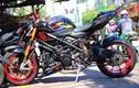 """Dân chơi Việt độ kiểng môtô Ducati Streetfighter """"siêu chất"""""""