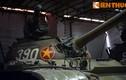 Cận cảnh chiếc xe tăng huyền thoại húc đổ cổng Dinh Độc Lập