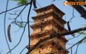 Lặng ngắm tuyệt tác tháp cổ thời Trần đẹp nhất Việt Nam