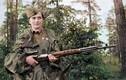 Ảnh màu tuyệt đẹp về nữ xạ thủ bắn tỉa Liên Xô