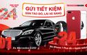 Cơ hội trúng Mercedes C250, iPhone7 Plus đỏ khi gửi tiết kiệm tại Techcombank