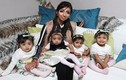 Mẹ ung thư 17 lần sảy thai bỗng có 4 con trong 9 tháng