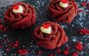 Cách làm bánh cupcake Valentine đỏ thắm như hoa hồng thật