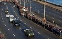 Ảnh: Người dân Cuba tiễn biệt lãnh tụ Fidel Castro lần cuối