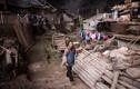 Chùm ảnh  làng Trung Quốc nằm sâu trong hang động
