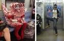 Hình ảnh hài hước, quái dị trên các toa tàu điện ngầm
