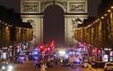 Hiện trường vụ xả súng tại Đại lộ Champs Elysees, trung tâm Paris