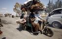 Chùm ảnh: Dân thường Syria ồ ạt chạy khỏi thành trì IS Raqqa