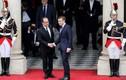 Ảnh: Tổng thống đắc cử Pháp Emmanuel Macron nhậm chức