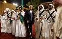 Ảnh: Tổng thống Donald Trump hào hứng ở Ả-rập Xê-út