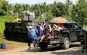 Ảnh: Dân lũ lượt chạy trốn khủng bố ở miền nam Philippines