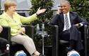 Ảnh: Cựu Tổng thống Obama gặp lại bà Merkel ở Berlin