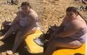 Chiến thắng bản thân, cô gái quyết tâm mặc bikini ra biển