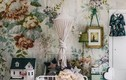 """""""Tường nhà có hoa"""" nhờ giấy dán tường lung linh, sống động"""