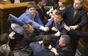 Các nghị sĩ Ukraine lại dùng nắm đấm để nói chuyện