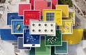 Choáng ngợp tòa nhà được làm từ 25 triệu mảnh ghép Lego