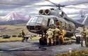 Loạt tranh vẽ đẹp mê hồn về Quân đội Liên Xô
