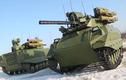 """""""Lạnh xương sống"""" xe tăng không người lái của Nga"""
