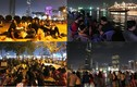 Giới trẻ đổ về nóc hầm Thủ Thiêm đón năm mới 2017