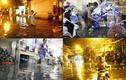 Ảnh dân Sài Gòn trắng đêm chạy lụt đầu năm mới 2017