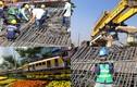 Sôi động công trường tuyến Metro Bến Thành-Suối Tiên ngày 29 Tết