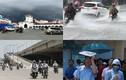 Ảnh: Hà Nội nắng đổ lửa, Sài Gòn lại mưa trắng trời