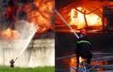 Ảnh: Kinh hoàng biển lửa bao trùm xưởng nhựa ở Sài Gòn