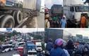 Tài xế ngủ gật, giao thông cửa ngõ Sài Gòn tê liệt