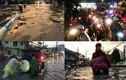 Ảnh: Mưa cực lớn, hàng loạt tuyến đường TPHCM chìm trong biển nước