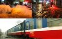 Đường sắt, đường bộ tê liệt trong cơn mưa lớn ở Sài Gòn