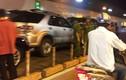 Hiện trường tai nạn liên hoàn trong hầm Thủ Thiêm, Audi A8 hỏng nặng
